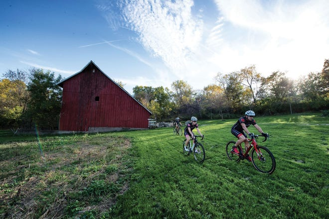 For the ultimate challenge, cyclists go off-road in Iowa City!