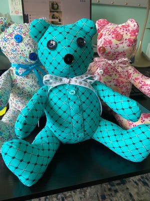 Hospice of Michigan makes memory bears that families can remember lost loved ones by.