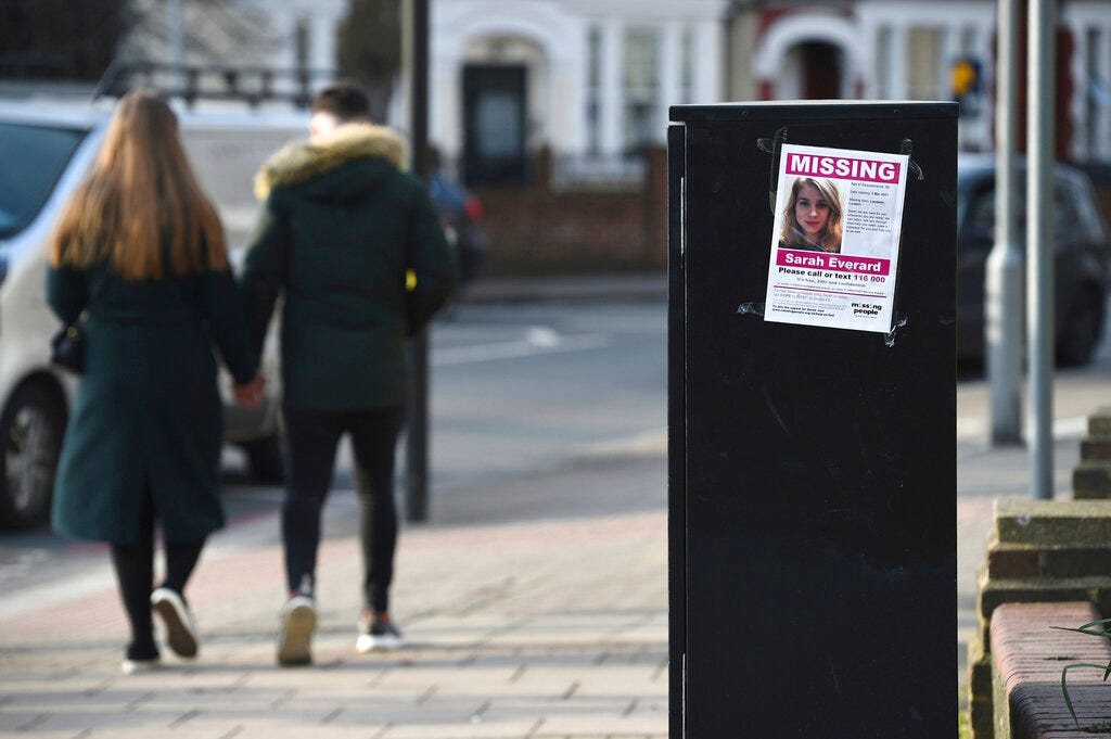 Case of UK woman who vanished on way home stirs grief, anger 2