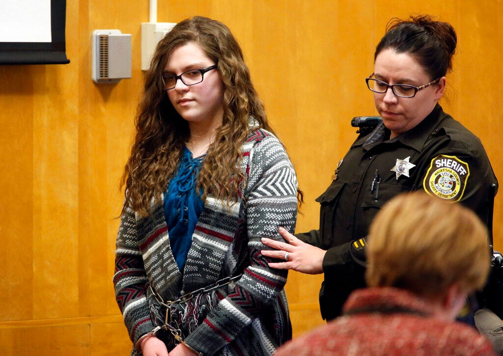 Slender Man attacker says she has reached treatment limits 2