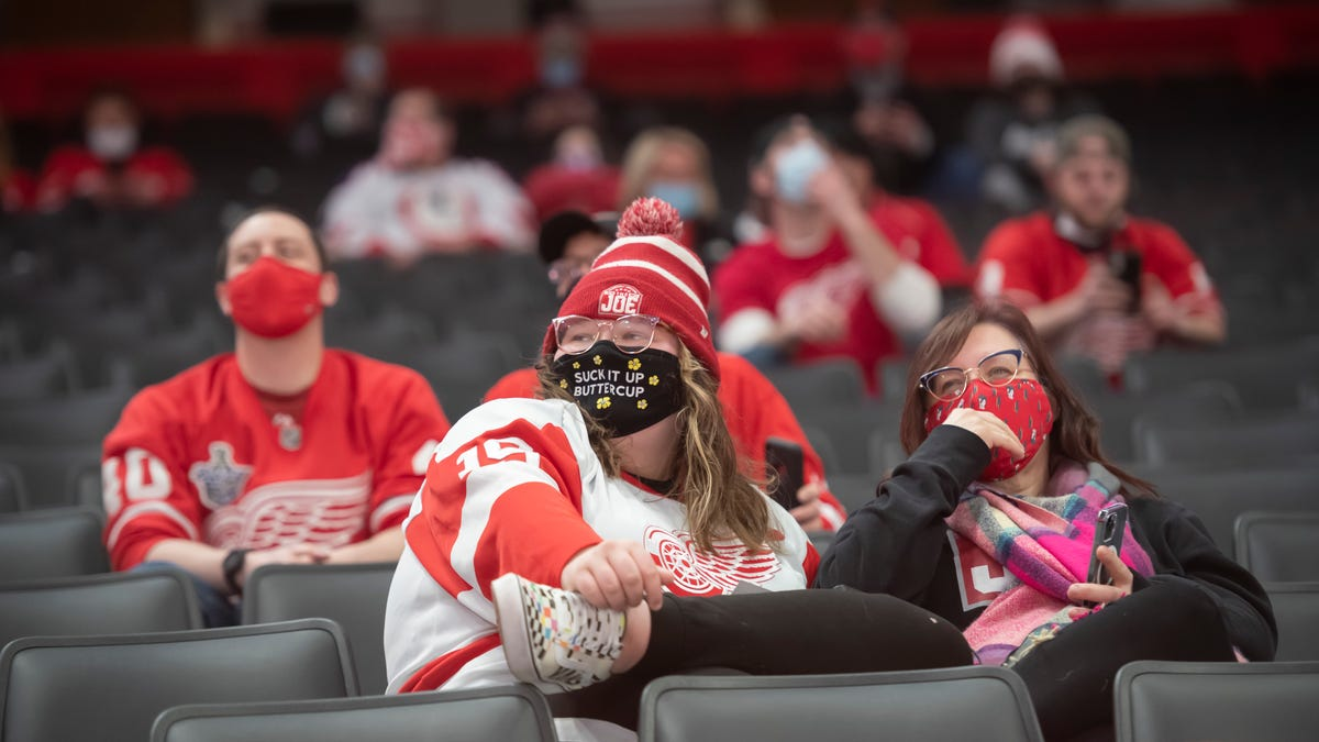 'A little bit of normal': Despite extreme capacity caps, fans thrilled to see live sports again 2