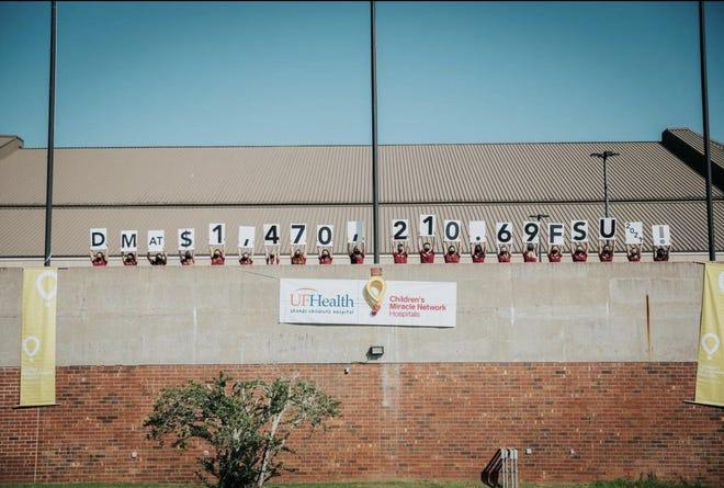 Dance Marathon at FSU raised more than $1.47 million For the Kids.