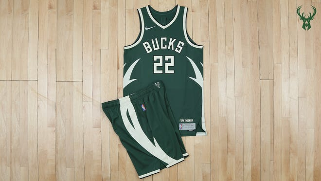 The Milwaukee Bucks' 'Earned Edition' jersey for select games in the second half of the season will debut March 11.