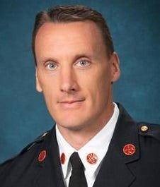 Interim Fire Chief Jason Smith