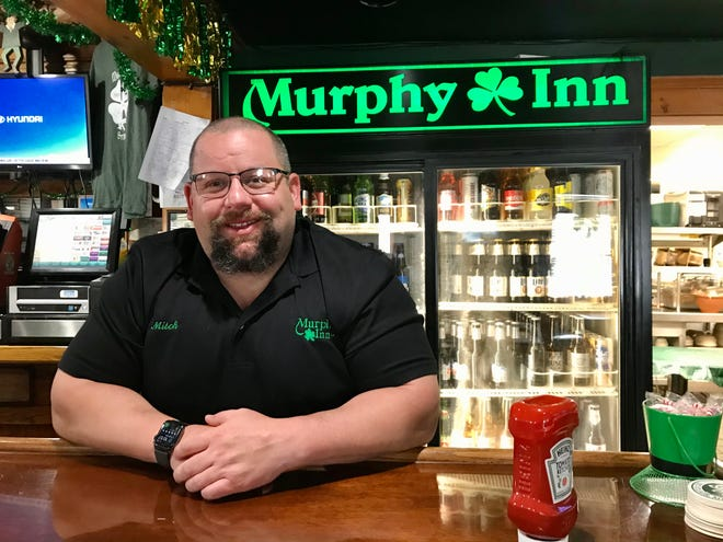 St. Clair city councilman and Murphy Inn manager Mitch Kuffa talks about St. Patrick's Day expectations on March 10, 2021.
