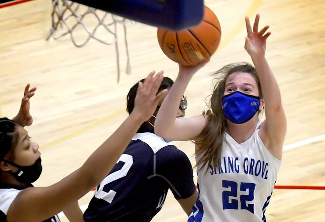 Spring Grove High School girls' basketball standout Ella Kale has committed to Bloomsburg Unviersity.