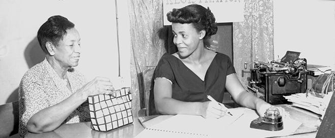 Maude Craig, pictured left.