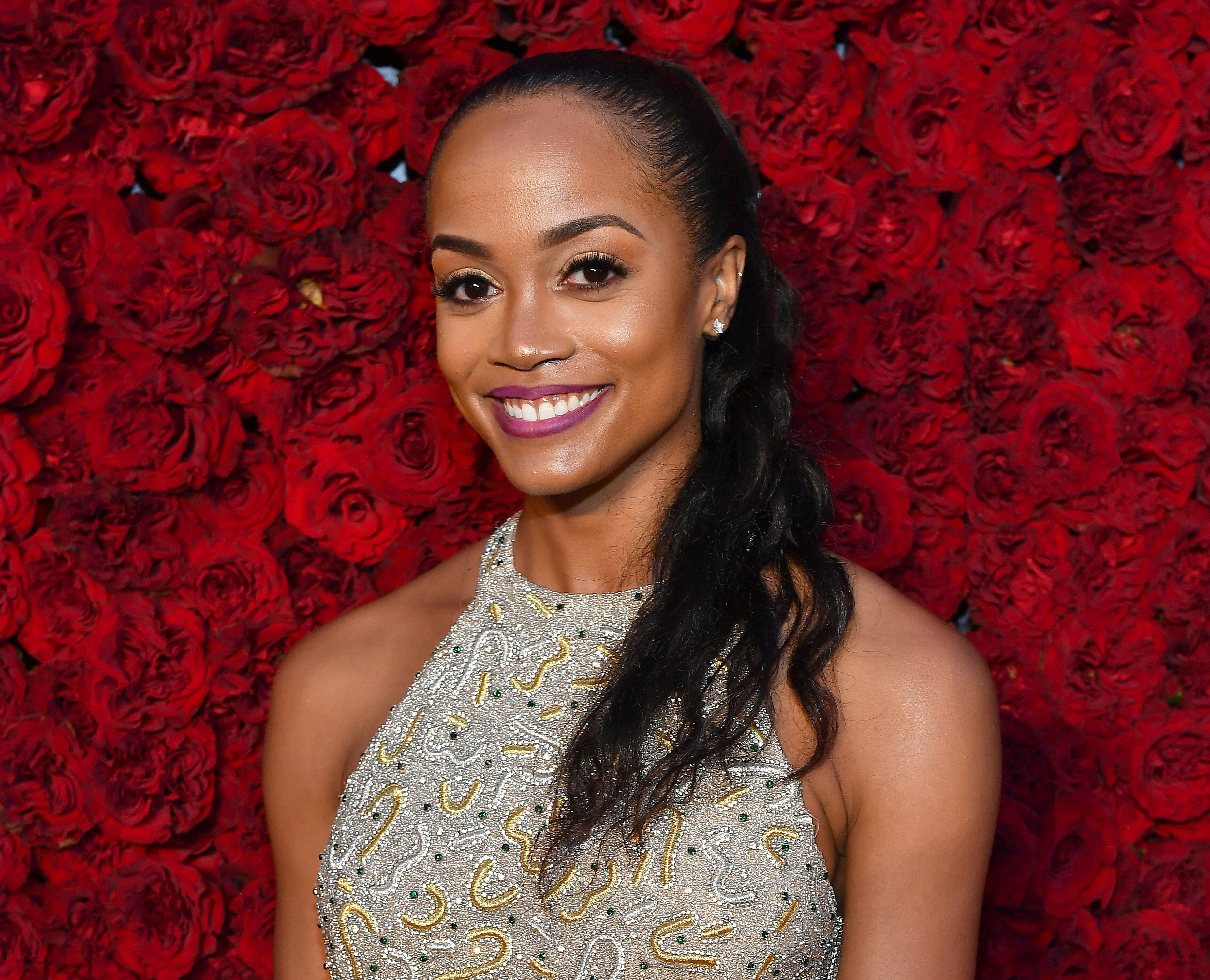 Former 'Bachelor' contestant Rachel Lindsay called out host Chris Harrison for defending a controversial media post by another contestant.