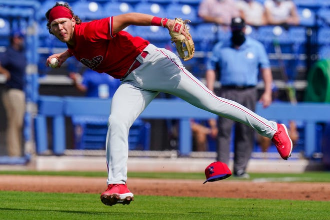 Alec Bohm earned the Phillies' starting third-base job by putting up a .881 OPS in 44 games.
