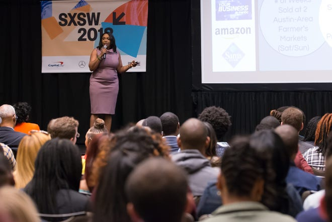 Participants take part in a startup pitch competition during South by Southwest 2018 in Austin. These kinds of in-person opportunities won't exist this year, as SXSW will be all-virtual do to the coronavirus pandemic.