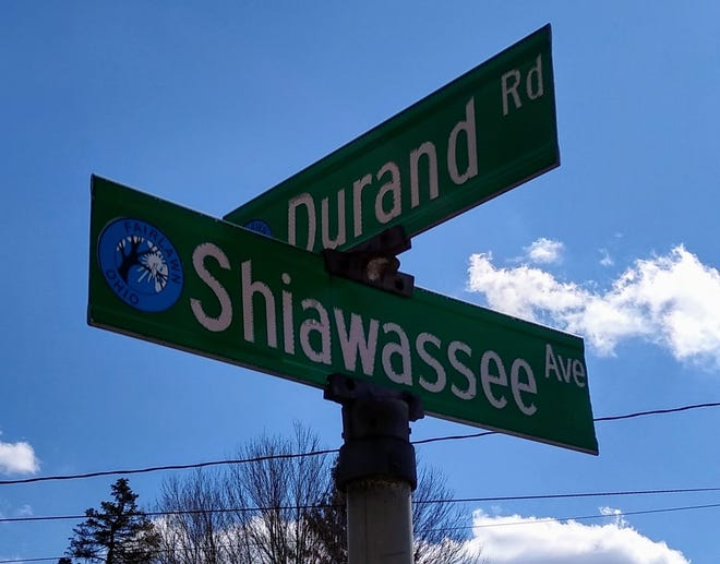 The Fairlawn intersection of Shiawassee Avenue and Durand Road has roots in Michigan.