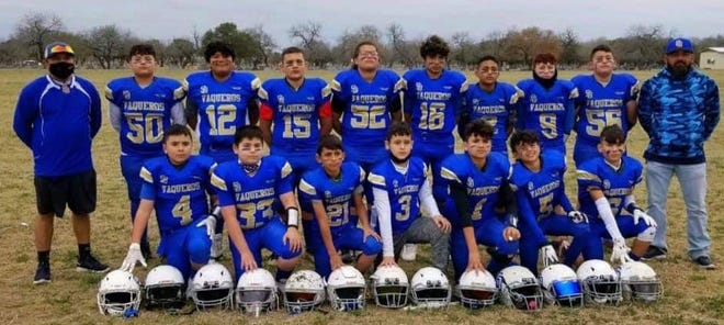 Sr. San Diego Vaqueros earned their way to the Superbowl.