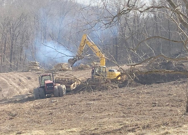 Ground work has already begun at Boone Point Subdivision in Boonville. The Booonville City Council will have a second reading on Boone Point and Fox Hollow at Monday's City Council meeting.