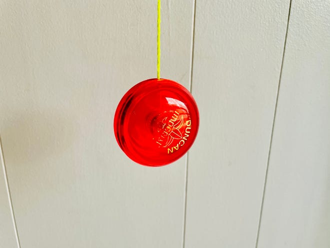 The writer's Duncan Imperial yo-yo.