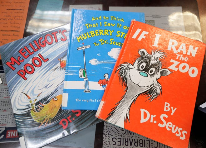 The Fairfield County District Library has three of the six Dr. Seuss books recently pulled from publication by Dr. Seuss Enterprises for having insensitive depictions of ethnic minorities. They will remain on the shelf in the children's department.