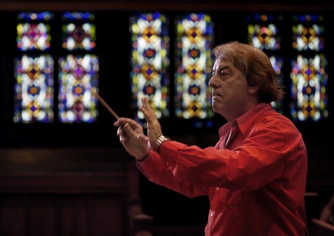 Conductor Alessandro Siciliani