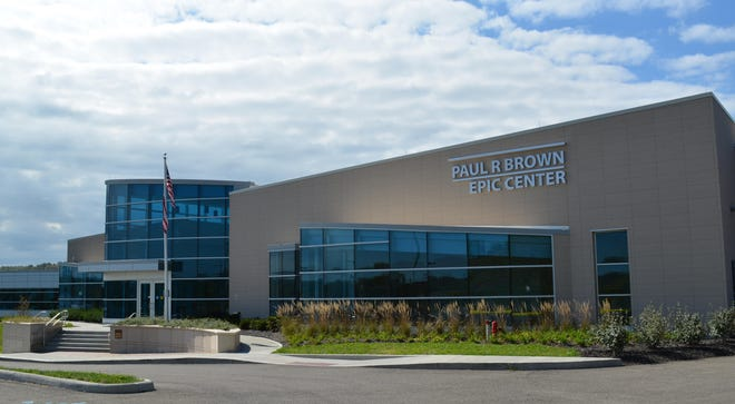 The Paul R. Brown Epic Center at the D.O. Hall Business Park on Brick Church Road south of Cambridge has been vacant since Zane State College suspended classes in March 2020 amid the COVID-19 pandemic. The college is looking for a new occupant to fill the $9.85 million building.
