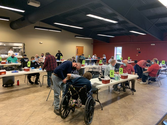 The Wayne County Health Department hosted a COVID-19 vaccine clinic on Thursday at Wooster Nazarene Church. The health department received 2,370 doses for the week of March 8.