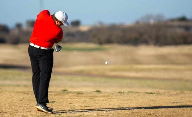 Glen Rose's Blake Perry had rounds of 80-79 to lead GR in the season-opening Dinosaur Invitational.
