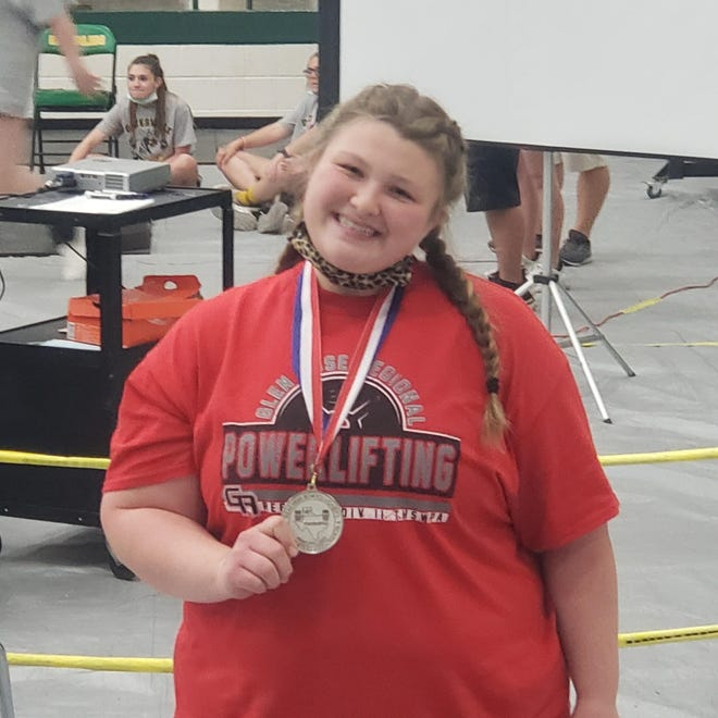 Glen Rose's Mallory Alexander advanced to state by placing second in her division at the Region 2 meet last Friday in Dublin.