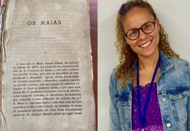 """A investigadora cabo-verdiana Vanussa Vera-Cruz Lima, da UMass Dartmouth, identificou em """"Os Maias,"""" de Eça de Queirós, várias passagens racistas que na sua opinião não retiram valor à obra literária, mas justificam a inclusão de """"um comentário pedagógico,"""" para que a questão racial não seja ignorada."""