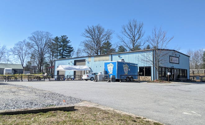Blue Ghost Brewing Company is expanding seating at the Fletcher-based brewery.