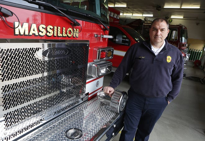 Assistant Massillon Fire Chief Matt Heck is scheduled to assume his new role of fire chief on April 10. He began serving with the Massillon Fire Department in 1997.