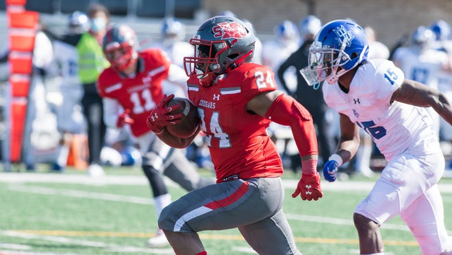 Vance McShane, a former Freeport star, is having a breakout junior season for Saint Xavier. He has 878 all-purpose yards through the first four games.