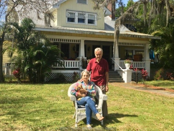 Harold and Jessica Bray are selling the contents of Three Oaks Bed & Breakfast on the north shore of Lake Wailes.