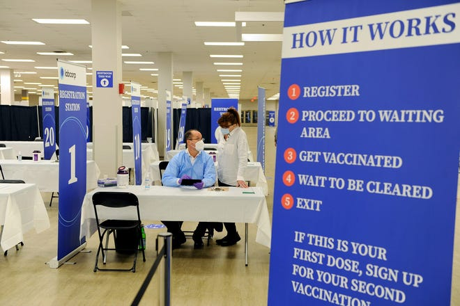 The company that runs the Natick Mall COVID-19 vaccination site will accumulate about $2.5 million in revenue from the state for its work there.