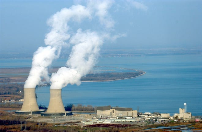 DTE Energy's Fermi 2 Nuclear Power Plant in Newport is pictured.
