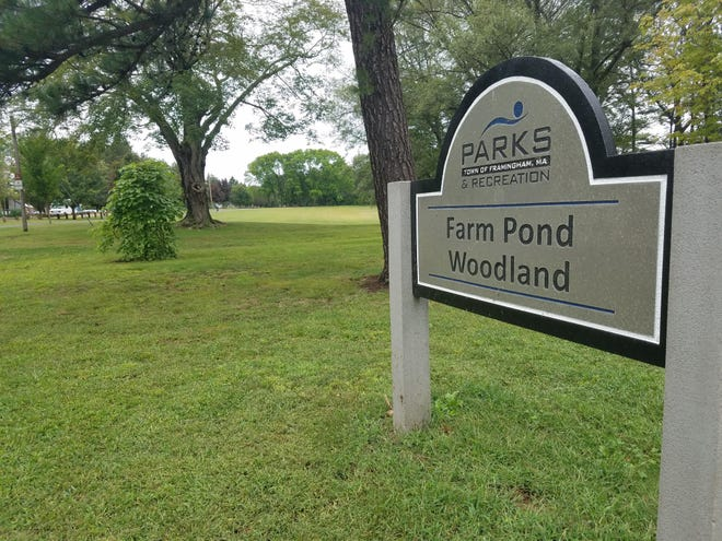 The city was awarded a $23,000 grant to help open the city's first dog park at Farm Pond Park.