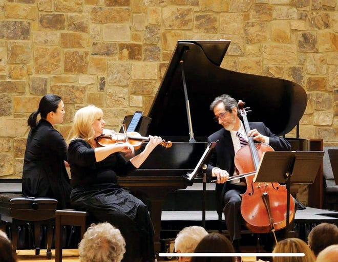 Oak Ridge Civic Music Association presents Cumberland Piano Trio in performance — virtually — to all of ORCMA's email subscribers this month.