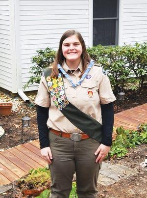 Oak Ridge's first female Eagle Scout.