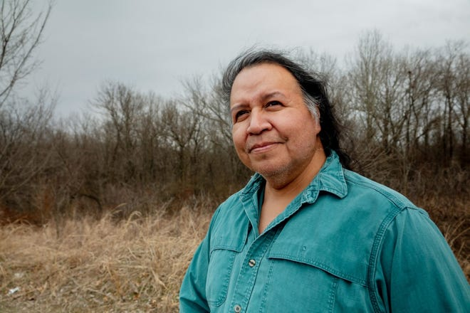 Cherokee storyteller Robert Lewis says continuing the tradition is one way to keep people connected to their heritage.