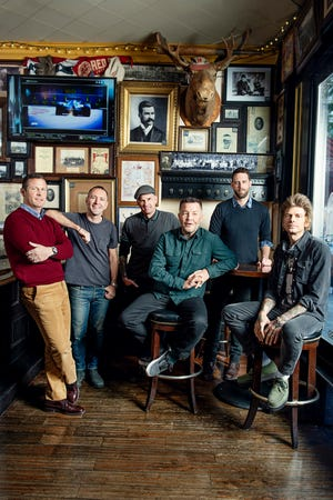 """The Dropkick Murphys will perform a free livestream St. Patrick's Day show. Titled """"Still Locked Down,"""" the Blarney blowout gets under way at 7 p.m. March 17."""