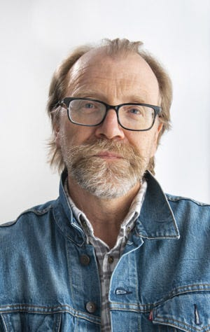 """Author George Saunders will discuss his book """"A Swim in a Pond in the Rain"""" at the virtual Palm Beach Book Festival.  (Photo: Zach Krahmer)"""