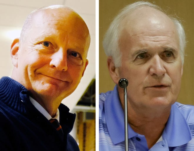 Charles Denault Jr. and Kenneth Lemont both resigned from the Kittery Town Council.