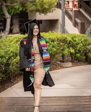 Eleanna Garza graduated in May 2020 from San Joaquin Delta College with an associate of science degree in electron microscopy.