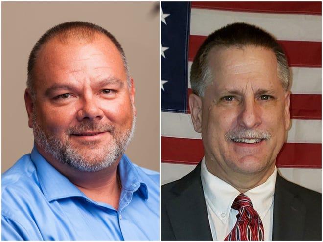 Poplar Grove Village President Owen Costanza is being challenged by Donald Sattler on April 6.
