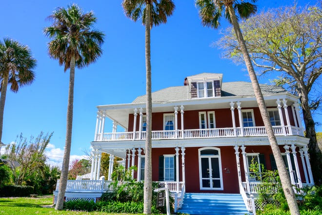 This seven-bedroom, 6,535-square-foot Victorian mansion, located at 80 Water St. in St. Augustine, was built in the late 1890s, and is on the market for $2.9 million.