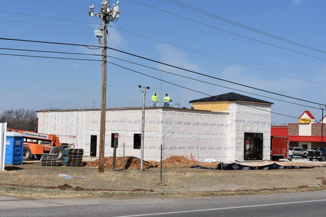 Construction continues for a second Express Wellness site in Shawnee.