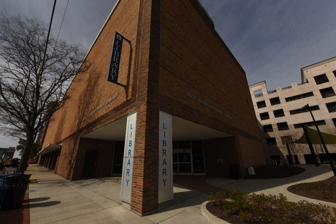 The New Hanover County Library's downtown branch would move from the 200 block of Chestnut Street to the 200 block of Grace Street under a proposal for Project Grace. The library's current building would be demolished, but the library wouldn't close for any substantial period of time.