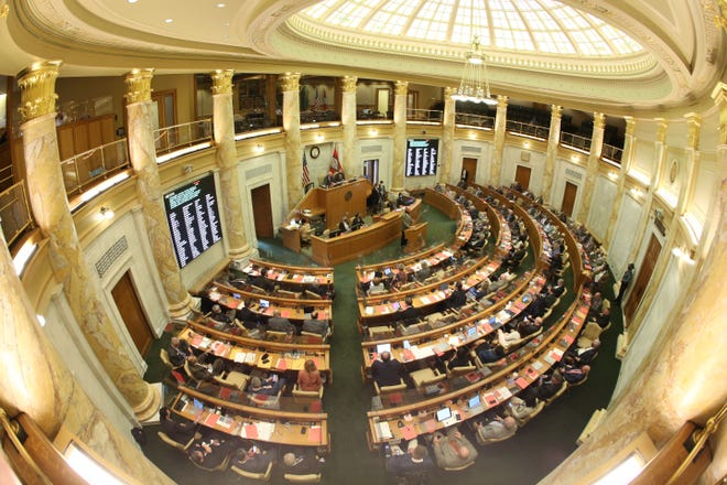 Democratic lawmakers have urged leaders of the Arkansas House and Senate to call a special session to repeal Act 1002.