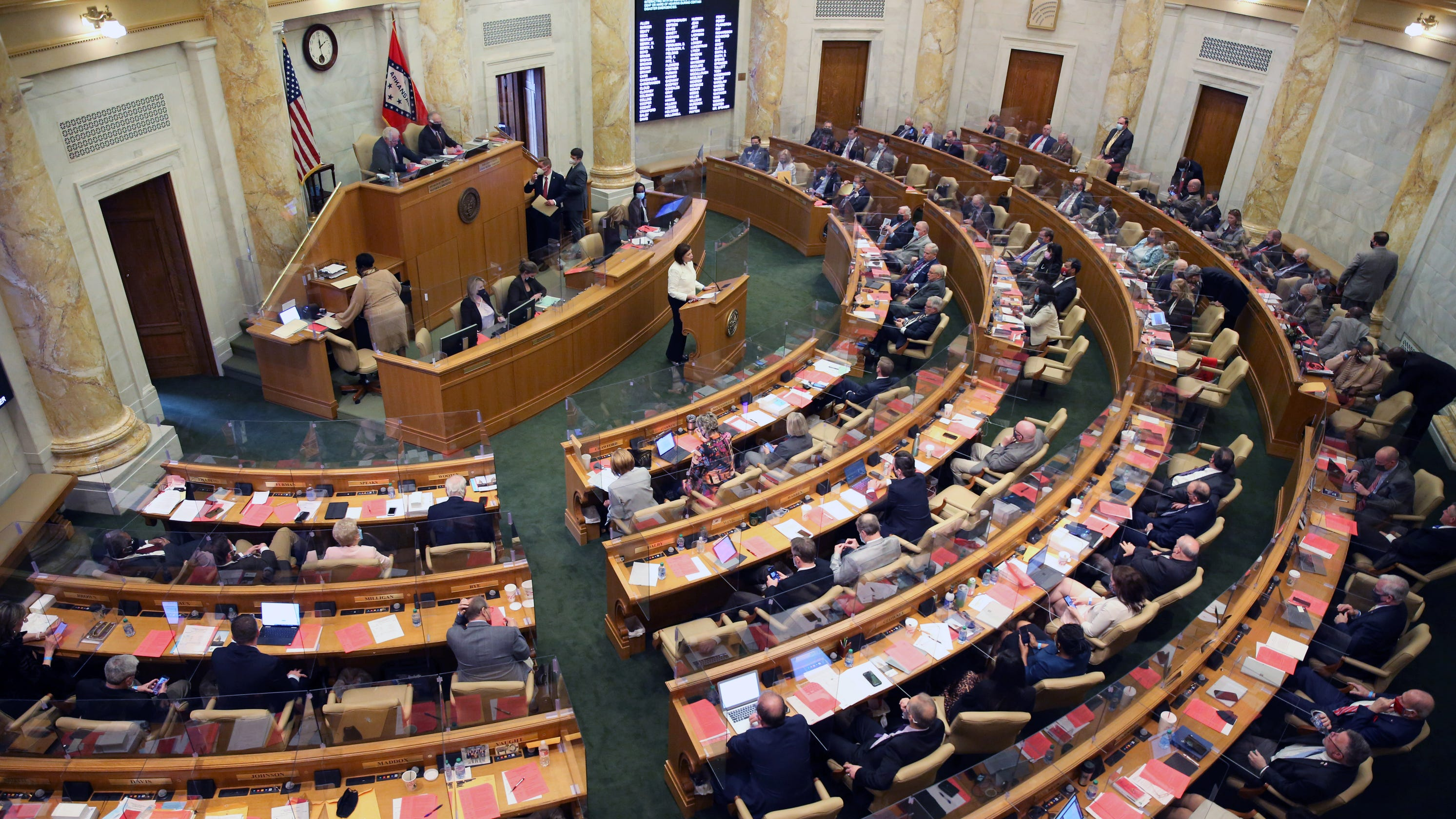 Arkansas lawmakers ban youth transgender treatment and surgeries, overriding governor's veto