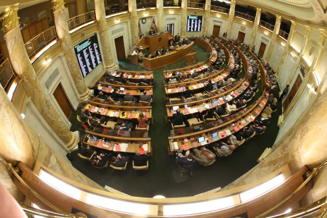 """A bill passed by the Arkansas House of Representatives and headed to the Senate Education Committeewould change the rules for public school employees when referring to a student whose identity is """"inconsistentwith the student's biological sex."""""""