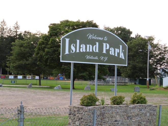 The Town of Wellsville is targeting an official opening around May 1 for Island Park.