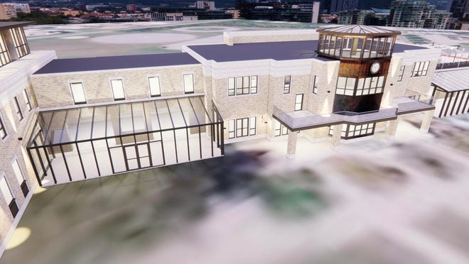 A proposed renovation of the Lunken Airport Terminal by VR Group, 2021. (Provided by VR Group)