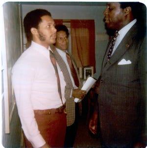 In 1975, University of Detroit Mercy President Antoine Garibaldi and Vernon Jordan met in St. Paul Minnesota, when Jordan was the executive director of the National Urban League and Garibaldi was a school principal.