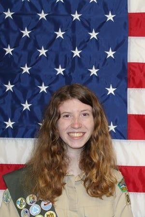 Megan Wolfe of Cape Coral is Southwest Florida's first female Eagle Scout.